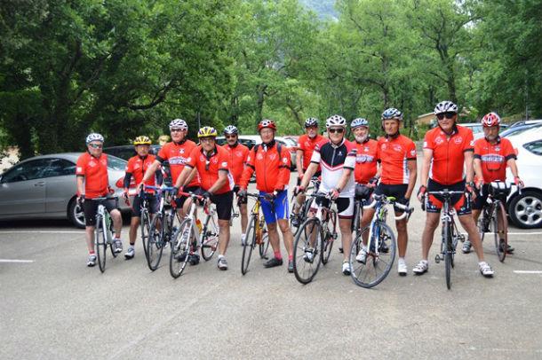Samedi : Le départ des cyclistes